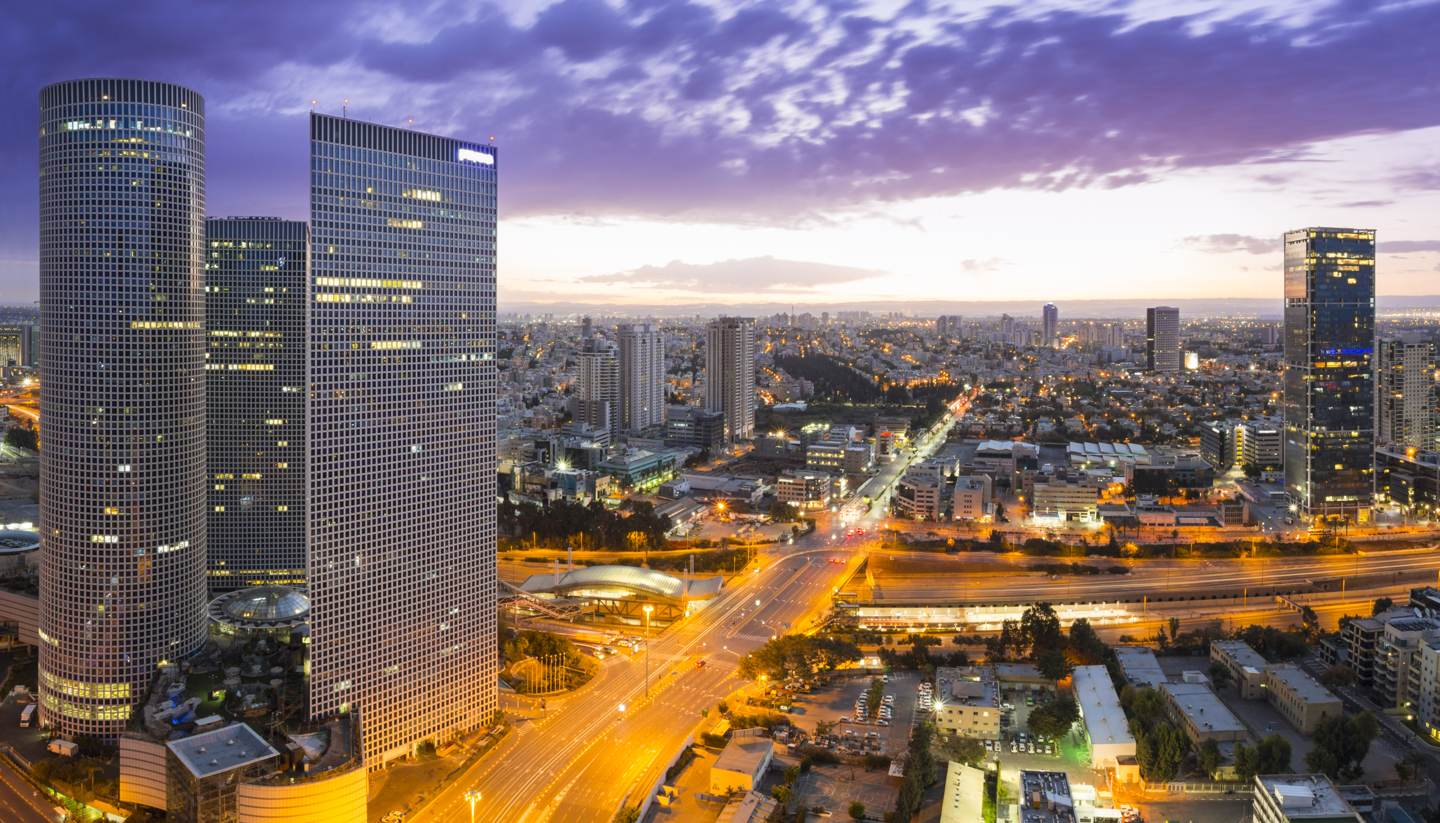 Tel Aviv - Tel Aviv at sunset, Israel