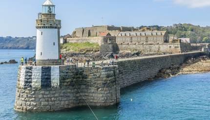 Lighthouse & Castle Cornet, Guernsey