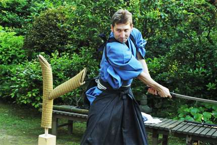 Experience Iaijutsu, the classical sword art of samurai