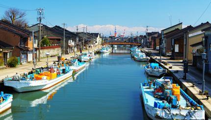 The 800-year-old Uchikawa Riverside is nicknamed