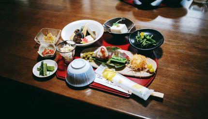 Shojin ryori cuisine - vegetarian meals prepared by Buddhist monks