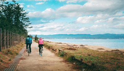 Toyama Bay Cycling Route, Toyama Prefecture, Japan