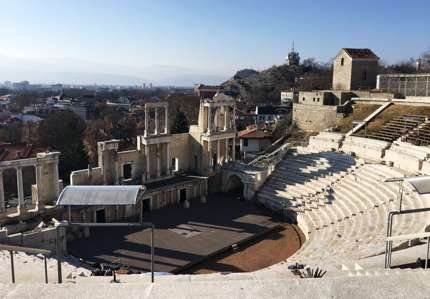 The Ancient Theatre, one of the best-preserved monuments in the world.