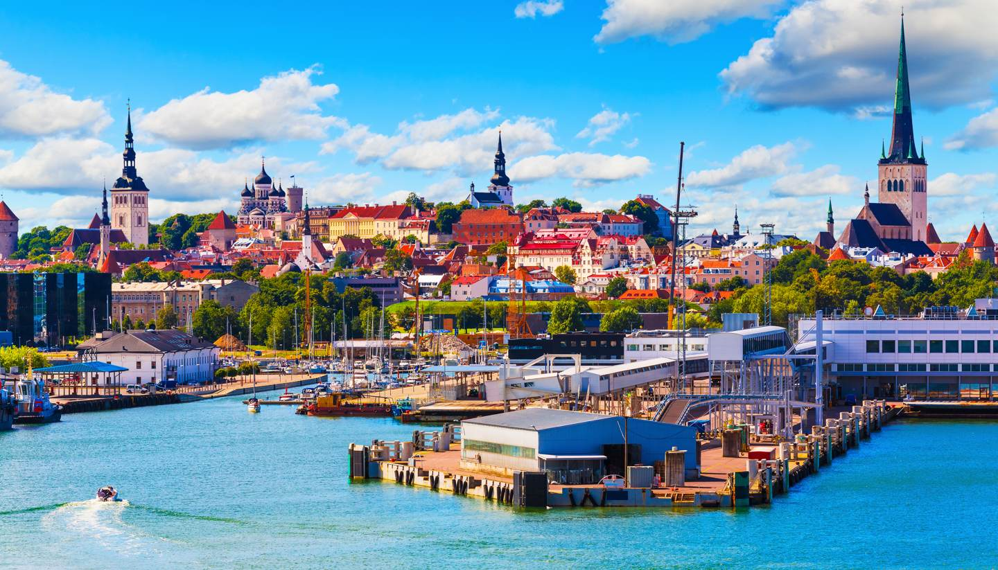 22 reasons why you should fall in love with Estonia - Old Town and seaport harbour in Tallinn, Estonia