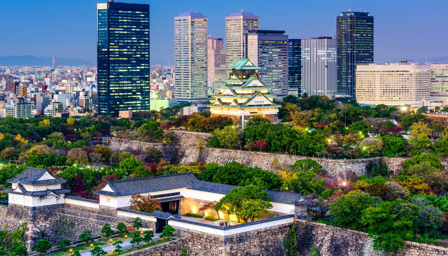 The buzzing culture of Osaka and beyond - Osaka castle