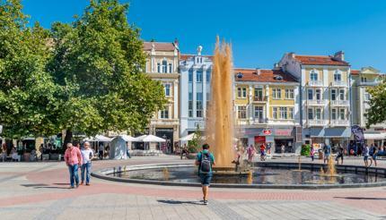Plovdiv city centre
