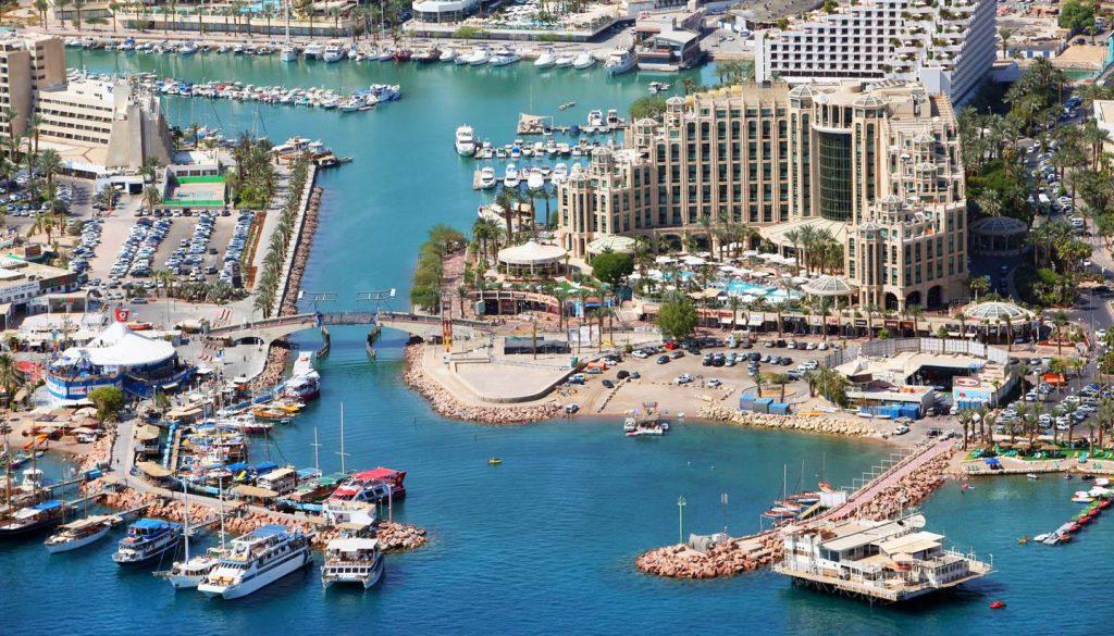 Eilat - Aerial view of Eilat