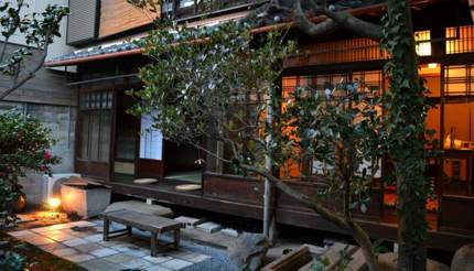 80-year-old Japanese townhouse