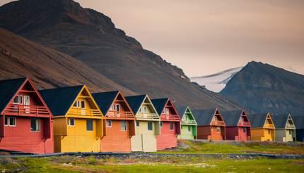 Longyearbyen, Svalbard archipelago