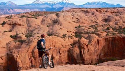 Mountain biking Slickrock Bike Trail