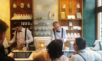Boerejongens coffeeshop in Amsterdam