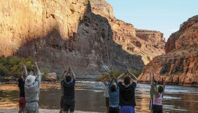 Yoga at the Grand Canyon