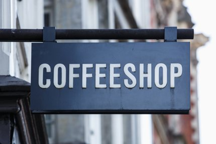 It's said that 25% of tourists in Amsterdam will visit a coffeeshop during their stay