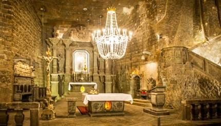 Chapel in Wieliczka Salt Mine