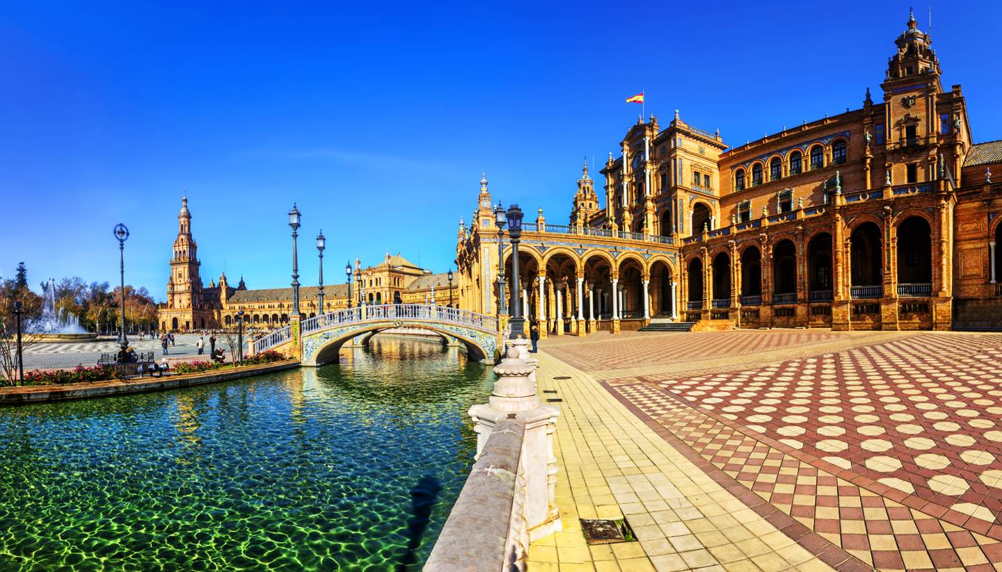 Where to go on holiday in May 2019 - Plaza Espana, Seville