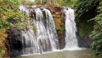 Ban lung Cambodia, Ka Chanh waterfall and pool