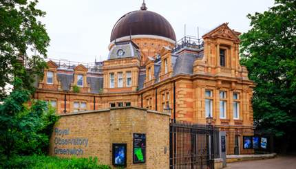 Royal Observatory in Greenwich, London