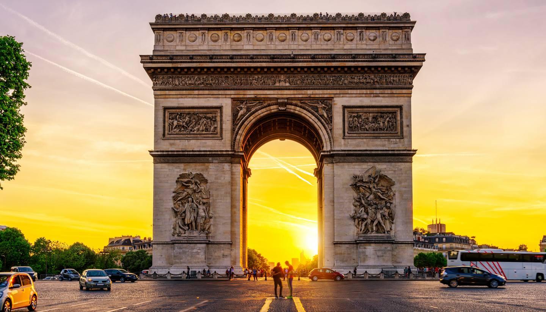 The best of France - Arc de Triomphe, Paris, France