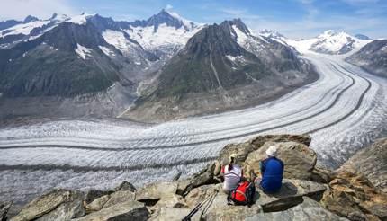 Hike the Aletsch Glacier