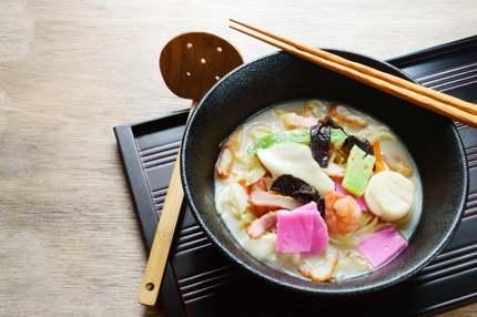 Champon, a regional dish of Nagasaki