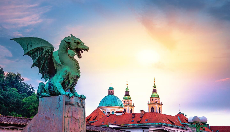 Where to go on holiday in September 2019 - shu-Slovenia-Ljubljana-Dragon-Bridge-Hero-644354827-1440x823