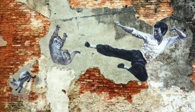 Bruce Lee Street Art