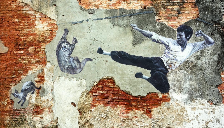 From vandalism to masterpiece: Malaysia's street art revolution - Bruce Lee Street Art