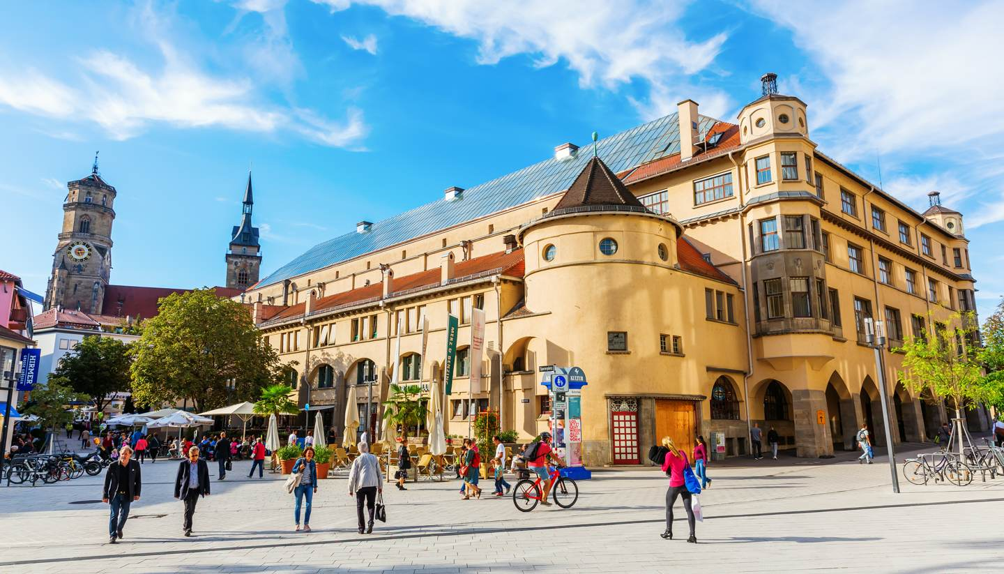 Where to go on holiday in October 2019 - Stuttgart, Germany