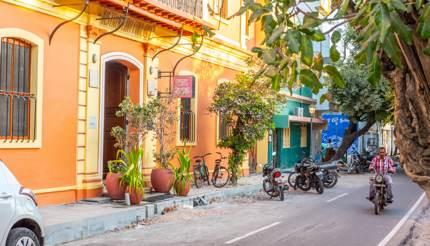 Old French Quarter in Pondicherry