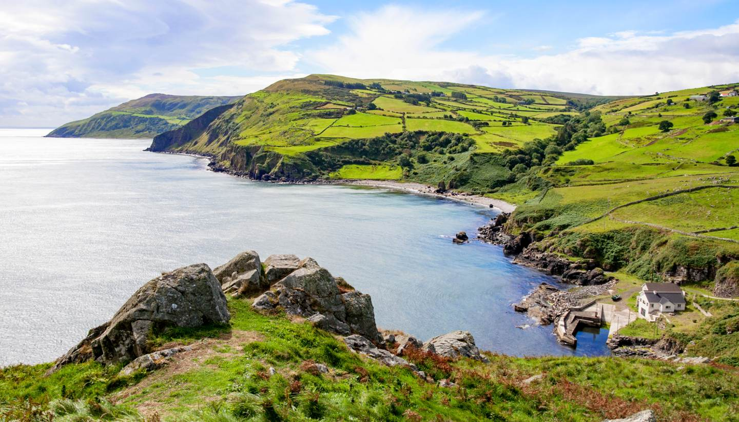Exploring Northern Ireland's coastal route - County Antrim, Northern Ireland