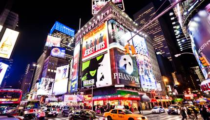 Head to Broadway for a world-class performance