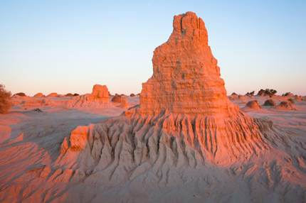 Lake Mungo, Willandra Lakes Region, Australia