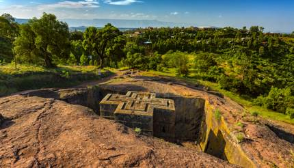 Bete Giyorgis (Church of St George), Lalibela, Ethiopia