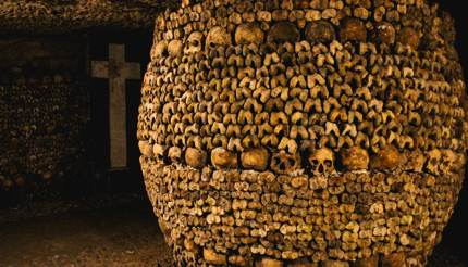 Les Catacombes de Paris, France