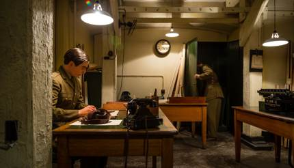 Churchill War Rooms, England