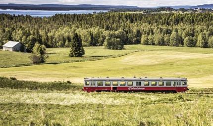 Inlandsbanan train in Sweden © inlandsbanan.se