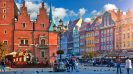 10 things to see and do in Wrocław - Central market square with old colourful houses in Wrocław, Poland