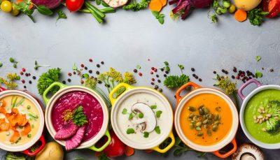 Vegetable soups - Winter soups