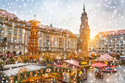 Dresden's Striezelmarkt