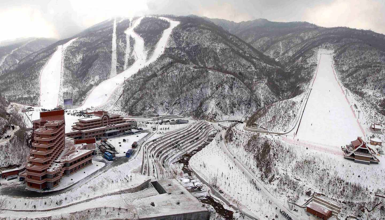 The 19 strangest places to ski - Masikryong, North Korea ©exploredprk.com