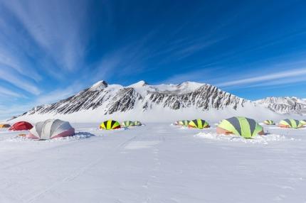 Union Glacier Camp, Antarctica