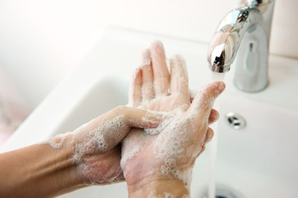 Washing your hands regularly can help to lower risks
