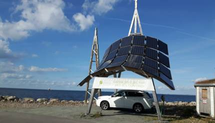 Charge your electric car with solar energy in Malmö, Sweden