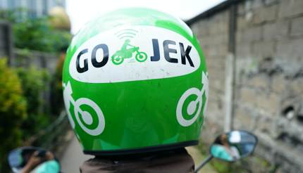 Gojek, a ride-sharing app in Indonesia