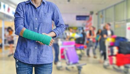 A broken arm may cost you £11,000 in Spain