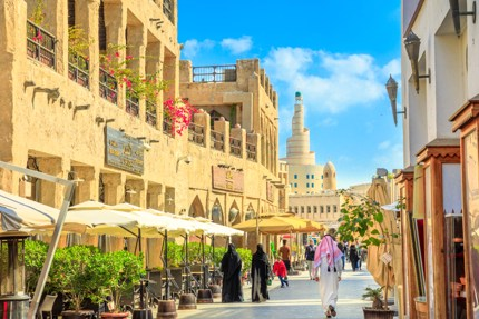 December to February is the best time to visit Qatar