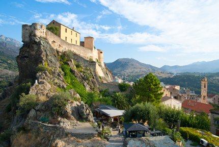 Corté, Corsica