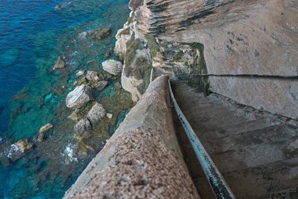 King of Aragon's stairway
