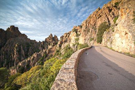 A mountain pass in Corsica