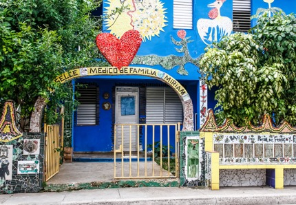 A clinic in Havana